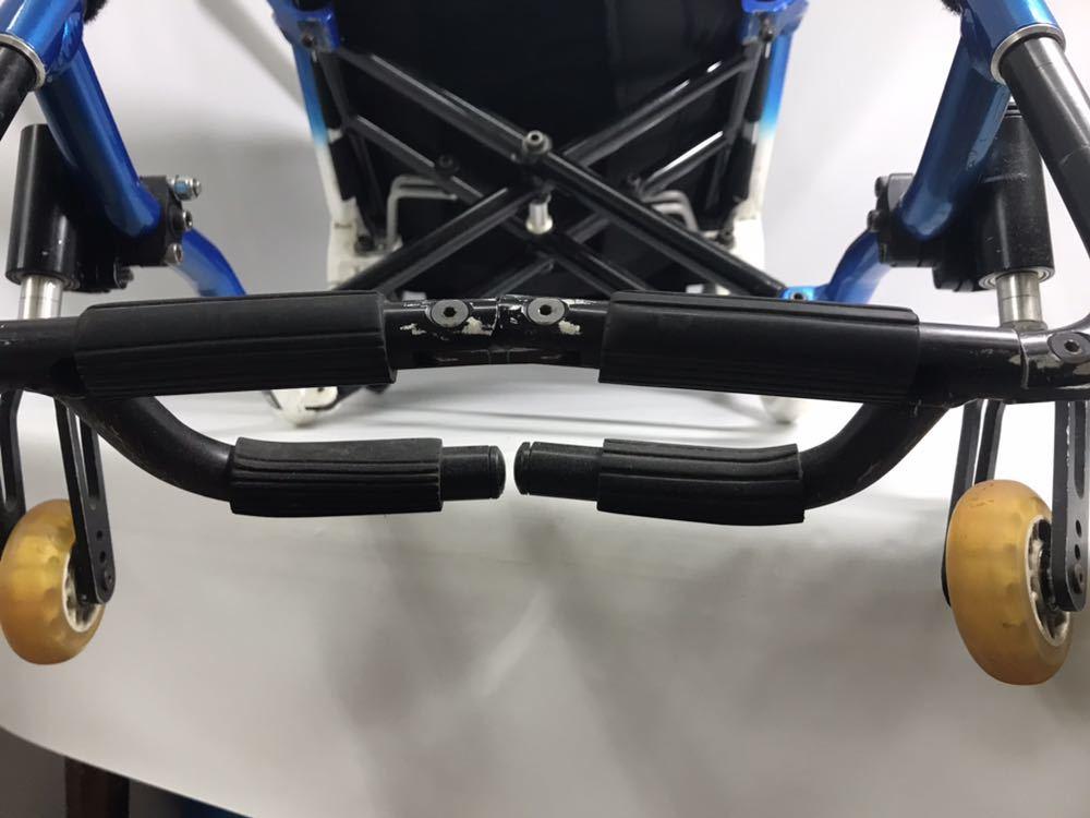 スポーツ・競技向け 車椅子 OXエンジニアリング 380R フレームのみ タイヤ無し 中古品_画像7