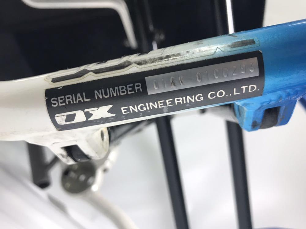 スポーツ・競技向け 車椅子 OXエンジニアリング 380R フレームのみ タイヤ無し 中古品_画像10