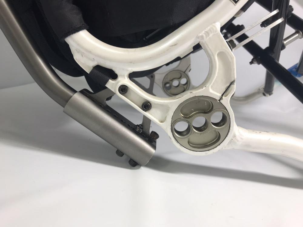 スポーツ・競技向け 車椅子 OXエンジニアリング 380R フレームのみ タイヤ無し 中古品_画像9