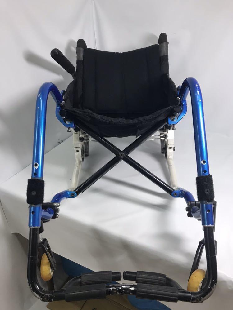 スポーツ・競技向け 車椅子 OXエンジニアリング 380R フレームのみ タイヤ無し 中古品_画像5