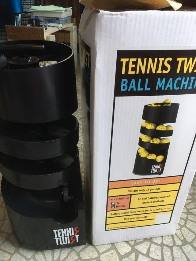 8f9ed5b159185 テニス 練習用 球出し機 ツイストタワー AC (コンセント) DC(電池)