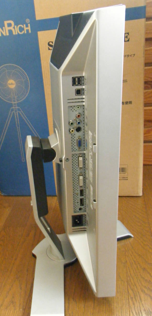 ジャンク 24インチ DELL 2408WFPb WUXGA 1920x1200 DisplayPort/HDMI/DVI/D-sub_画像4