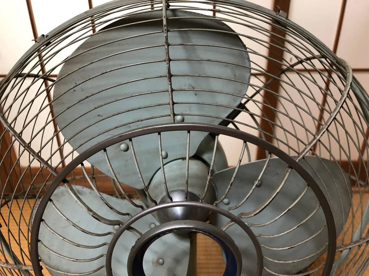 ☆可動品☆National ナショナル 金属羽 鉄製 扇風機 40FA 昭和レトロ アンティーク_画像3