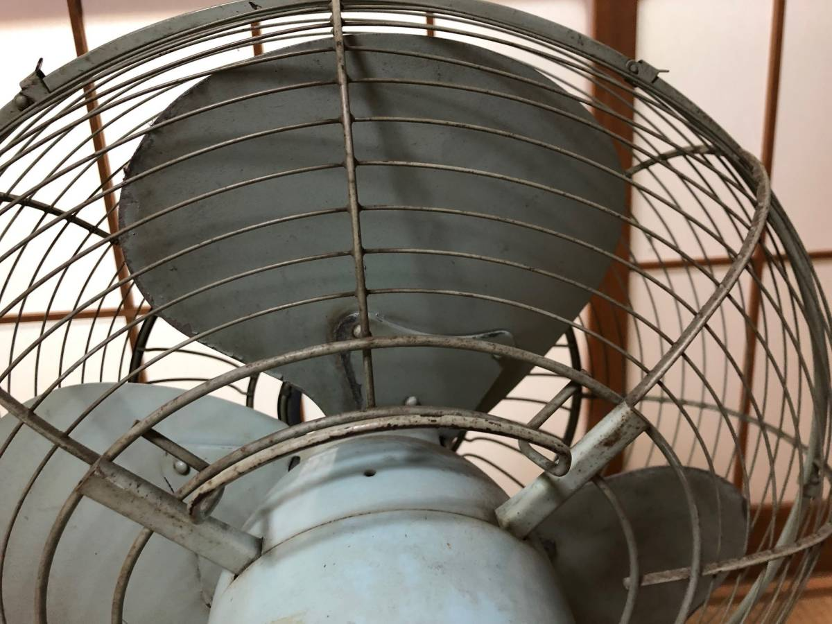 ☆可動品☆National ナショナル 金属羽 鉄製 扇風機 40FA 昭和レトロ アンティーク_画像8