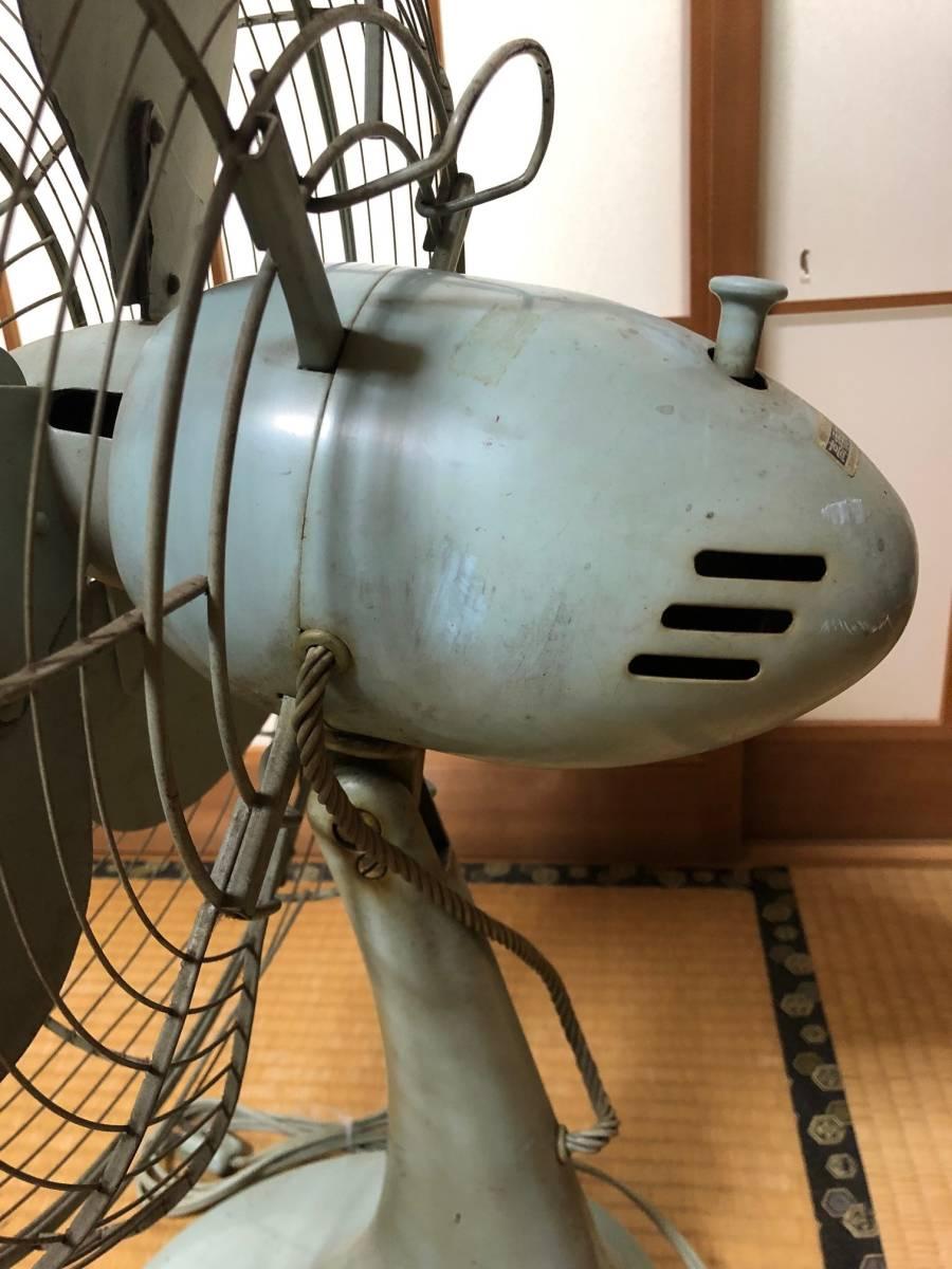 ☆可動品☆National ナショナル 金属羽 鉄製 扇風機 40FA 昭和レトロ アンティーク_画像6