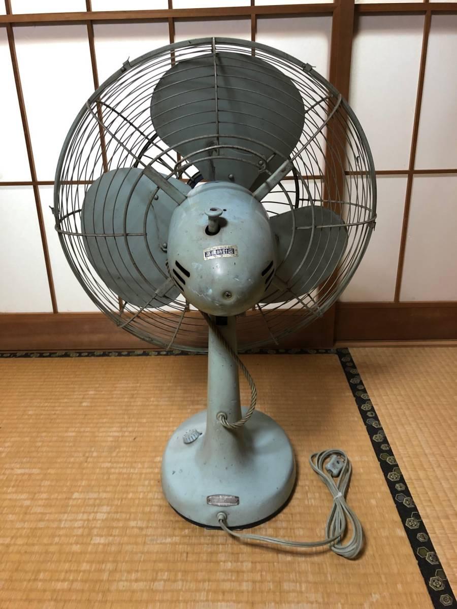 ☆可動品☆National ナショナル 金属羽 鉄製 扇風機 40FA 昭和レトロ アンティーク_画像7