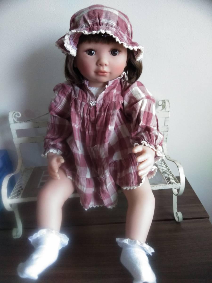 リボーンドール・身長約60cm・中古美品・赤ちゃん人形・送料無料
