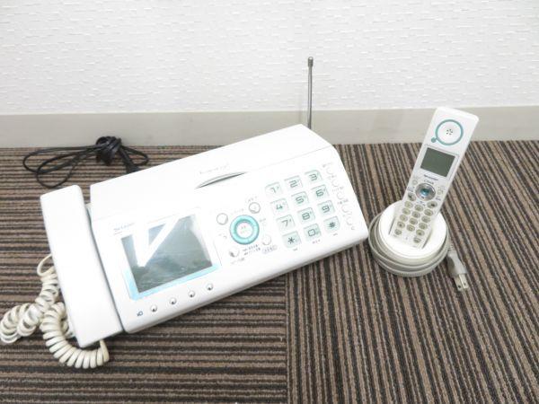 【通電確認済み】SHARP FAX電話機 UX-F50CL #1oa