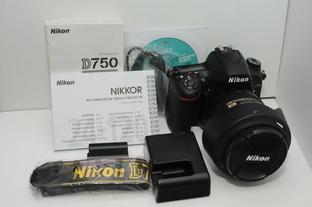 【中古】 Nikon D750 24-120 VR レンズキット ( 2432万画素 FXフォーマット/シャッターカウント 567)_画像4