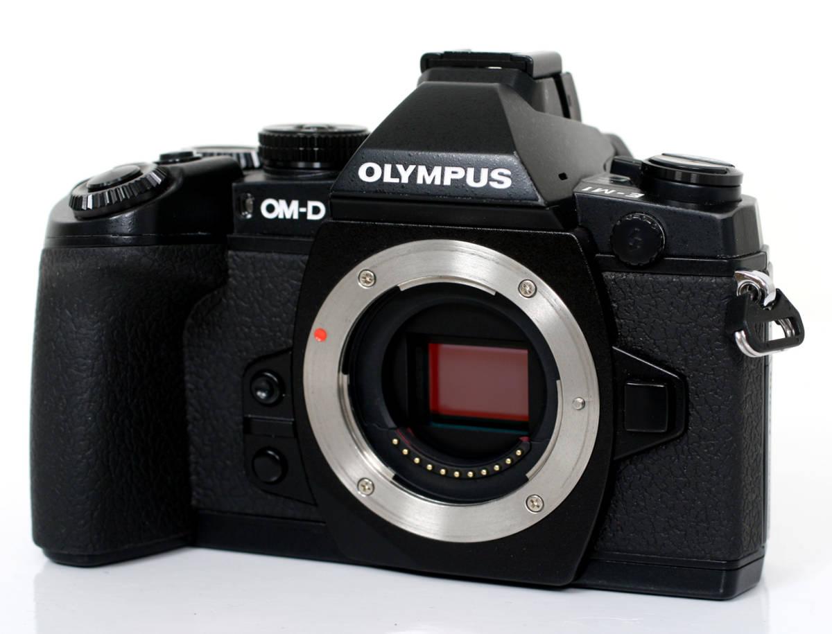 [普通中古・一週間保証] OLYMPUS OM-D E-M1 Black Body オリンパス EM1 ブラック マイクロフォーサーズミラーレス一眼ボディー
