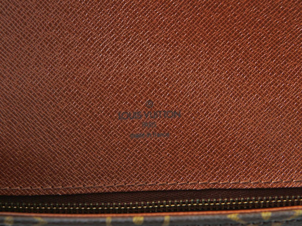 極美品 ルイヴィトン LOUIS VUITTON モノグラム シャンティPM ミニ 斜め掛け ショルダーバッグ ポシェット クロス ボディバッグ フランス製_画像10