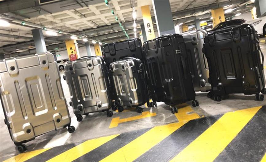 多功能 スーツケース、トランク トロリーケース キャリーケース メンズ レディース ビジネス トラベル バッグ 出張 24インチ_画像3