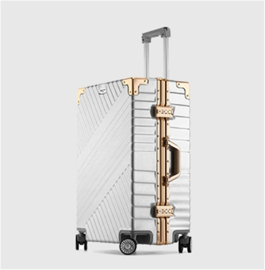 ★EU基準★アルミマグネシウム合金製・軽量/静音・TSAロック搭載スーツケース・キャリーケース20インチ 大容量_画像2