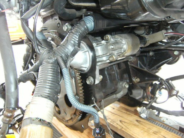 トヨタ AE111 AE86 4AGE 4A-GE 4AG エンジン レビン トレノ 4万km 美品 ダイナモ セルモーター E/Gコンピューター 補機類付き_画像5