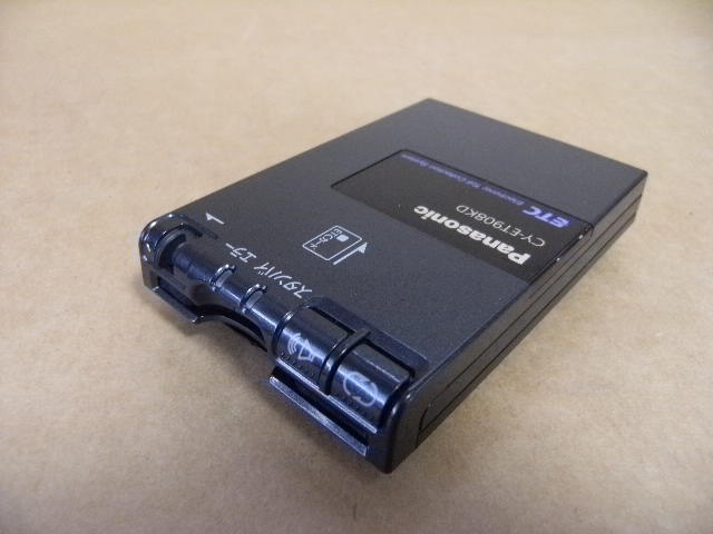 Panasonic パナソニック ETC 美品 軽自動車登録 「CY-ET908KD」 分離型 音声付 _画像2