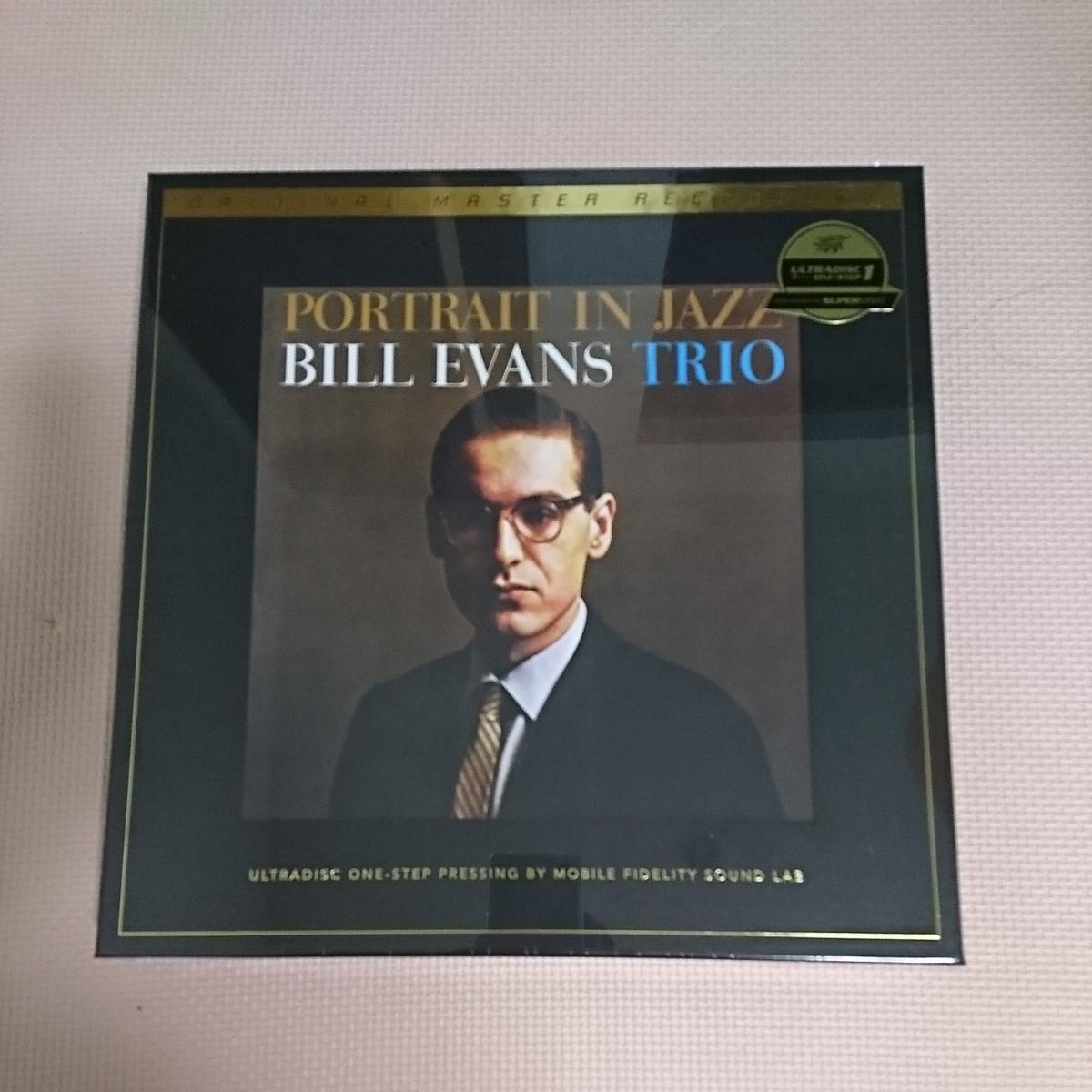 新品 即決 MFSL LP 0198/7000 ビル・エヴァンス ポートレイト・イン・ジャズ BILL EVANS Portrait In Jazz 45回転 Mobile Fidelity _画像3