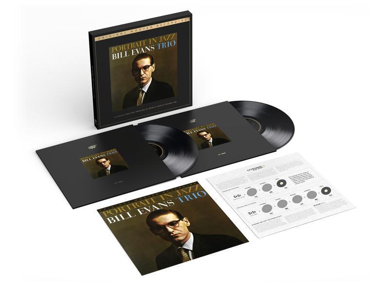 新品 即決 MFSL LP 0198/7000 ビル・エヴァンス ポートレイト・イン・ジャズ BILL EVANS Portrait In Jazz 45回転 Mobile Fidelity _画像2