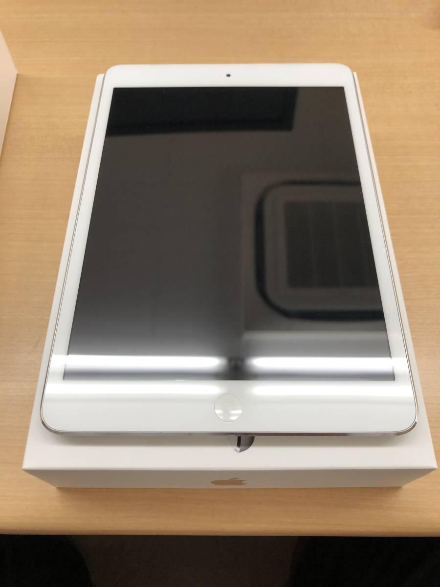 【中古】 Apple iPad mini Wi-Fiモデル 16GB MD531J/A ホワイト&シルバー _画像2