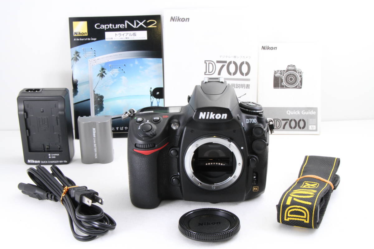【ショット数極小・極上美品】Nikon D700 ボディ ★極小6000ショット★状態の良い商品をお探しの方は必見★
