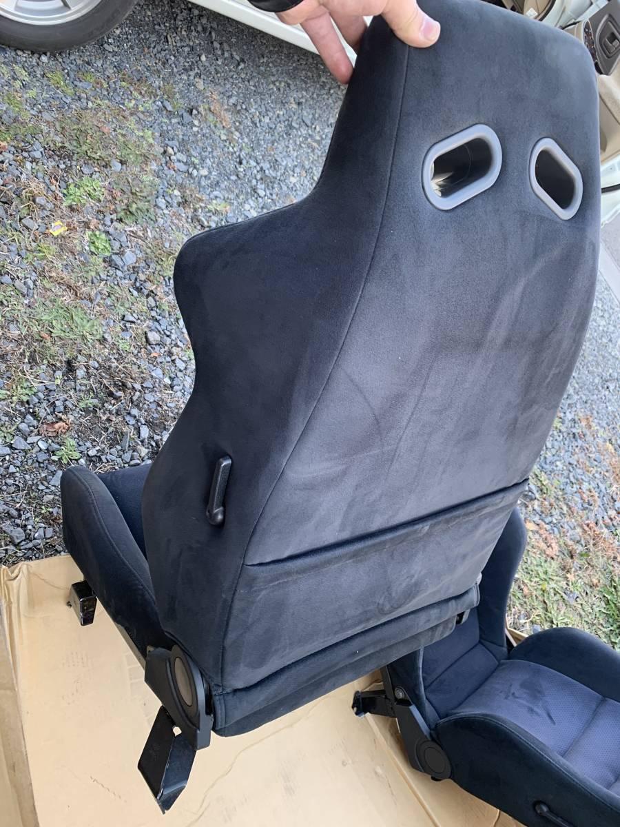 希少!STI セミバケットシート左右 GDBにて使用 レール付きです!状態もまぁまぁ良いと思います!ヴィヴィオ? レガシィ?_画像5