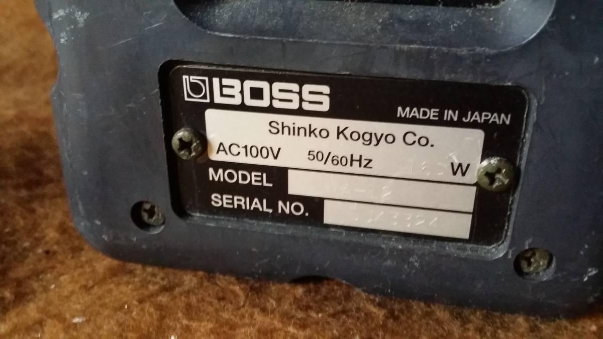 【BOSS ボス】MA-12 モニタースピーカー_画像6