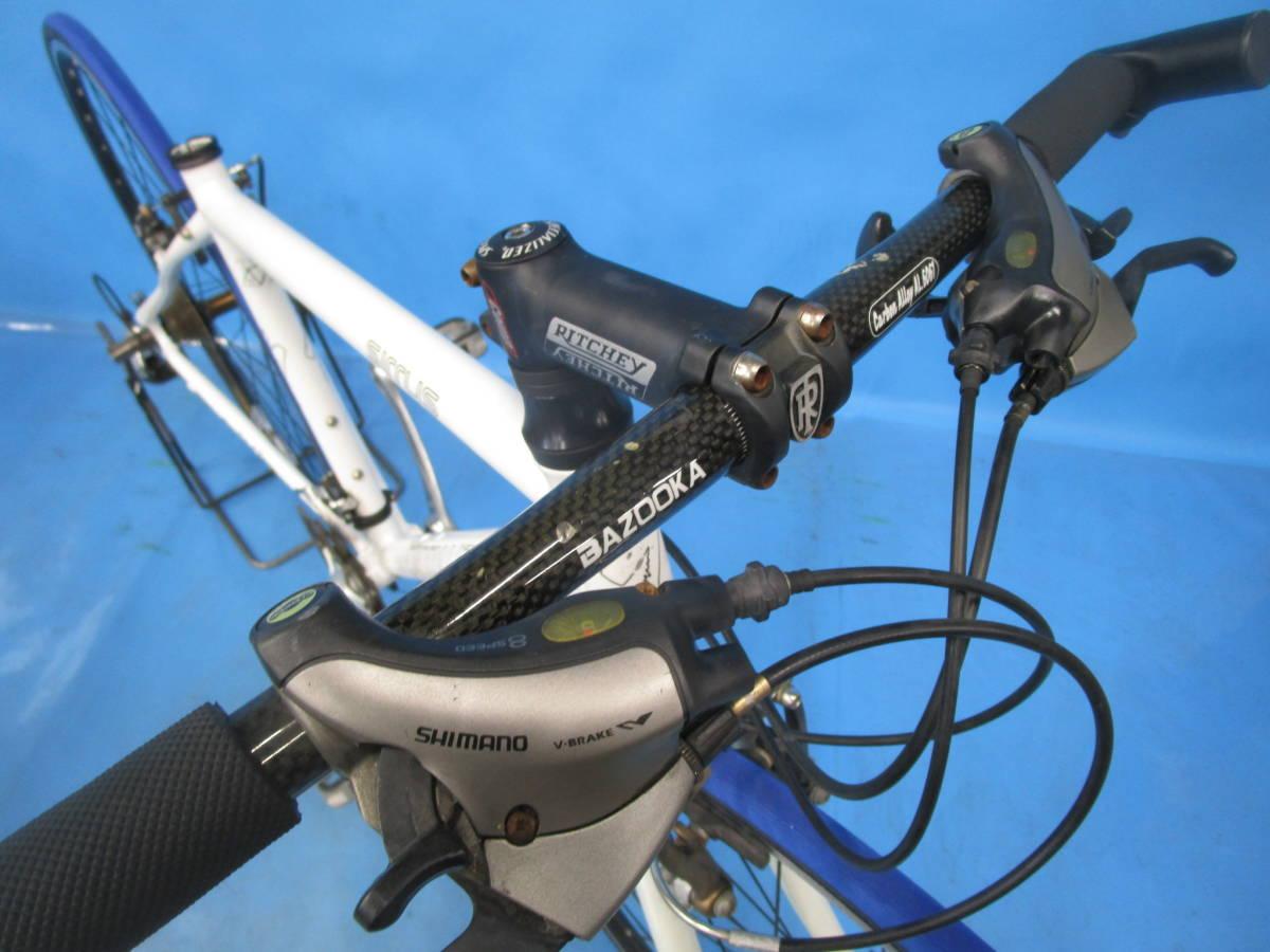 ☆大阪西淀☆ 部品取り SPECIALIZED SIRRUS アルミ クロスバイク 3×8 700C スペシャライズド シラス シマノ SORA 中古 自転車 M52_画像3