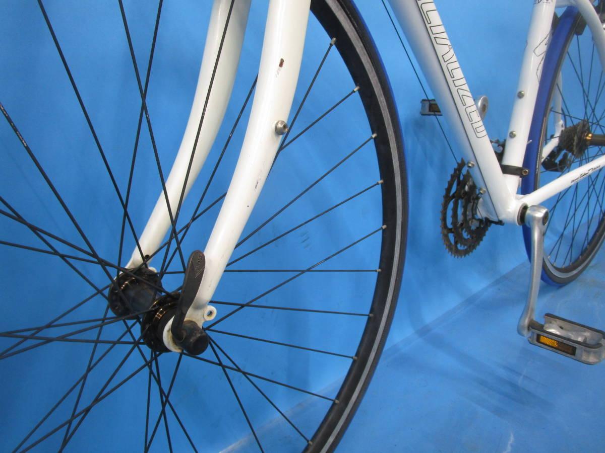 ☆大阪西淀☆ 部品取り SPECIALIZED SIRRUS アルミ クロスバイク 3×8 700C スペシャライズド シラス シマノ SORA 中古 自転車 M52_画像7