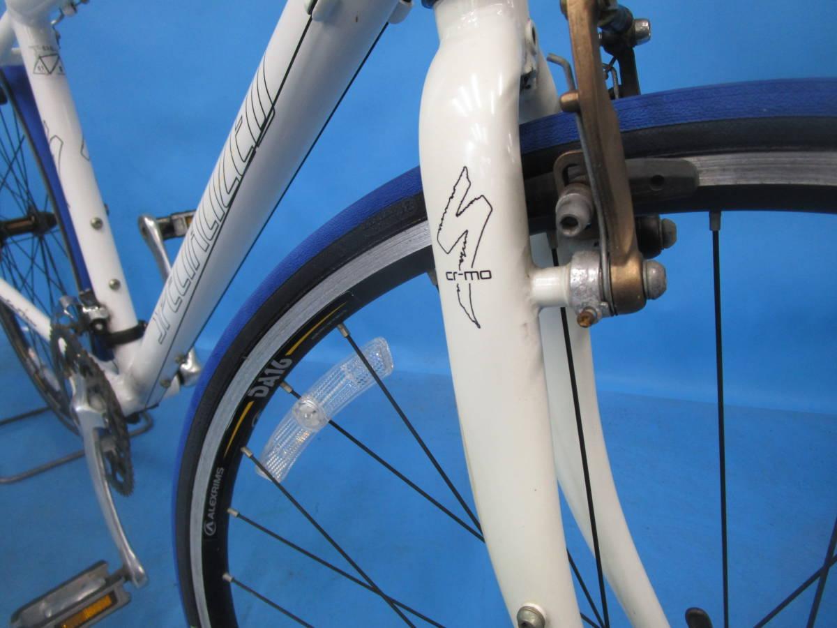 ☆大阪西淀☆ 部品取り SPECIALIZED SIRRUS アルミ クロスバイク 3×8 700C スペシャライズド シラス シマノ SORA 中古 自転車 M52_画像8