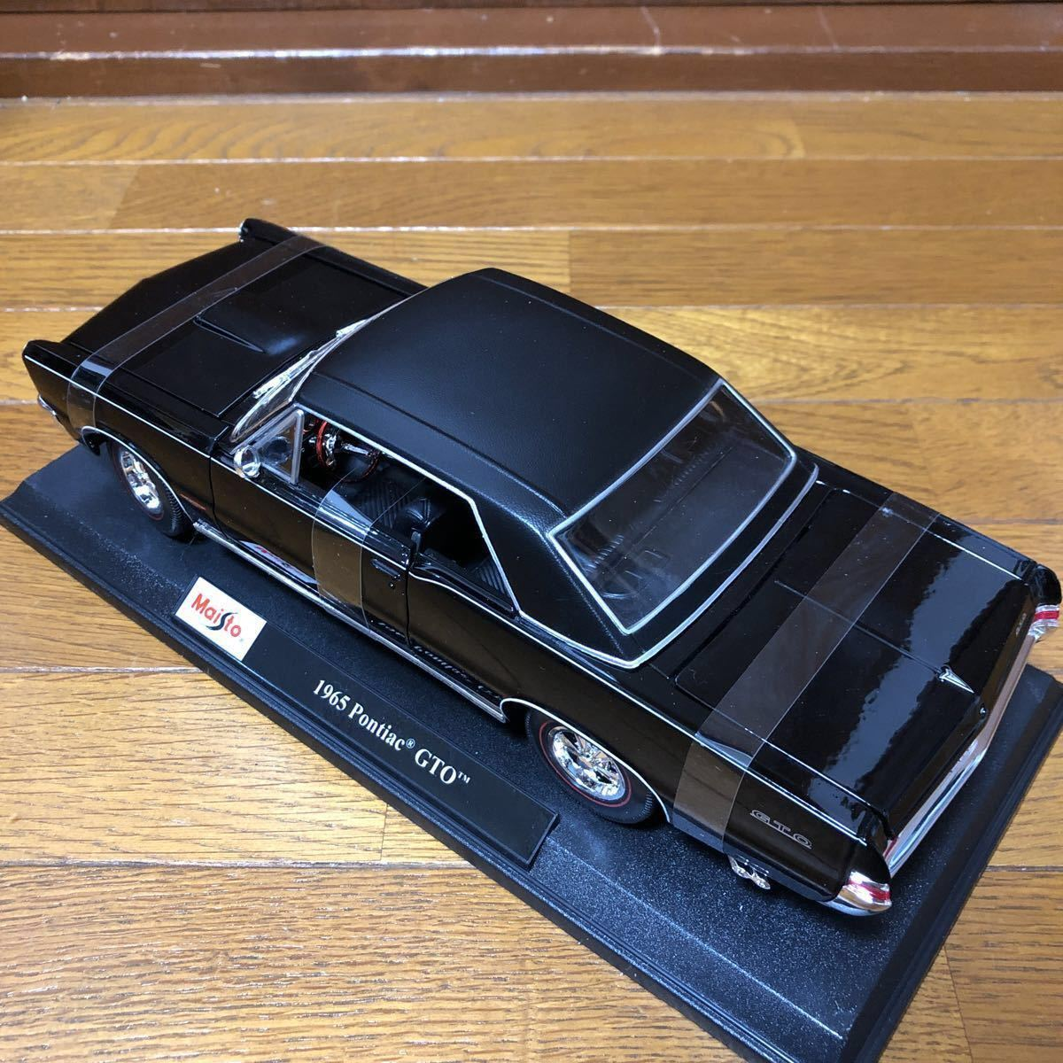 【1円~★新品★即決可】Maisto 1/18 1965 Pontiac GTO ferrari BMW lamborghini dodge Datsun NISSAN マイスト ミニカー beetle benz SL_画像4
