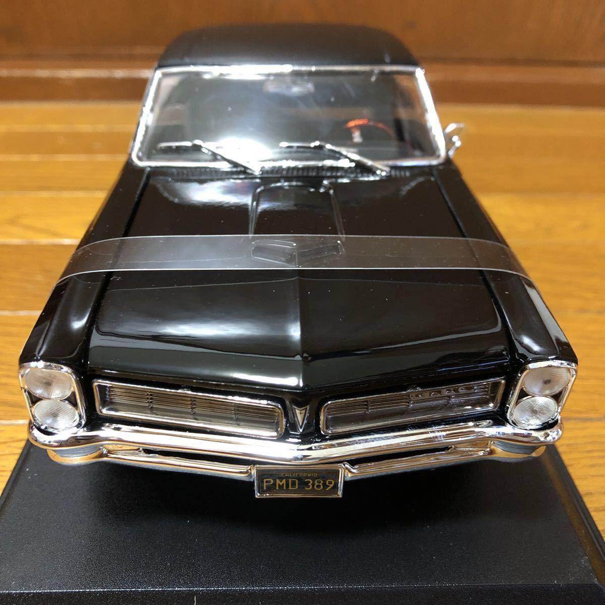 【1円~★新品★即決可】Maisto 1/18 1965 Pontiac GTO ferrari BMW lamborghini dodge Datsun NISSAN マイスト ミニカー beetle benz SL_画像2