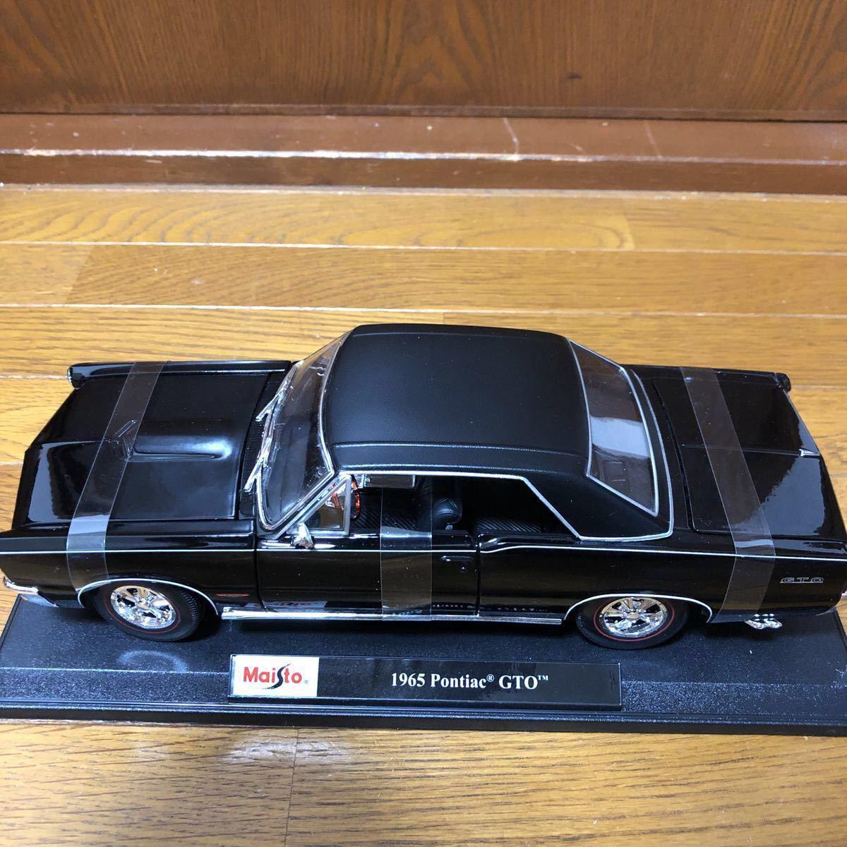 【1円~★新品★即決可】Maisto 1/18 1965 Pontiac GTO ferrari BMW lamborghini dodge Datsun NISSAN マイスト ミニカー beetle benz SL_画像9