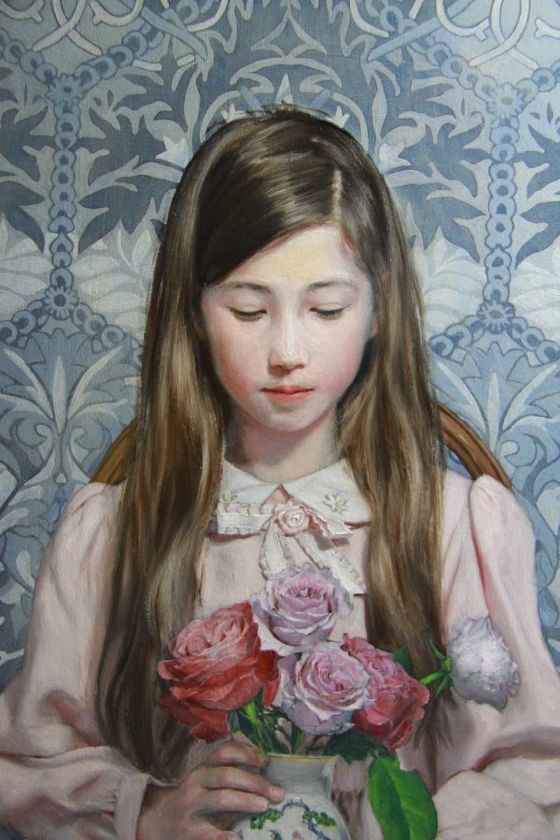 壮麗(アイミVIII) Hiroki Fukuda 530x410mm 2019年LA ART SHOW 出品 Art Renewal Center(米国)準会員Associate Living Master認定_画像3