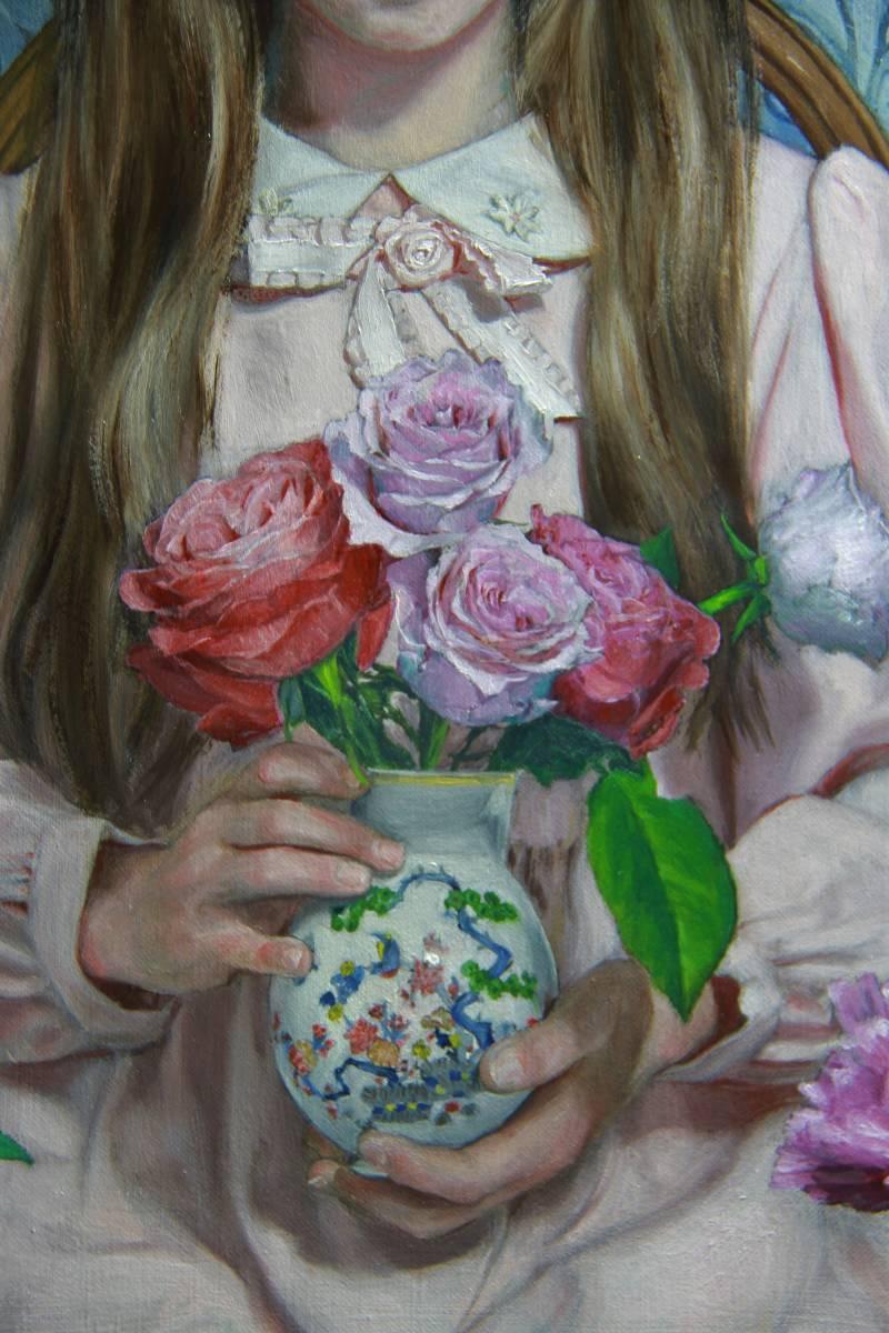 壮麗(アイミVIII) Hiroki Fukuda 530x410mm 2019年LA ART SHOW 出品 Art Renewal Center(米国)準会員Associate Living Master認定_画像5