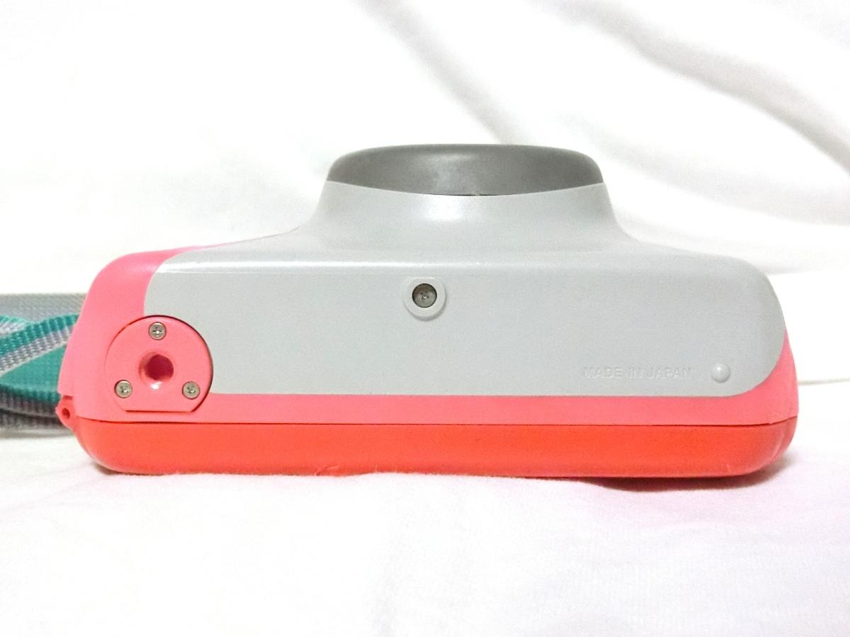 コニカ ウォータープルーフビッグミニ マーメイド ジャンク品。5年ほど前まで使用。_画像3