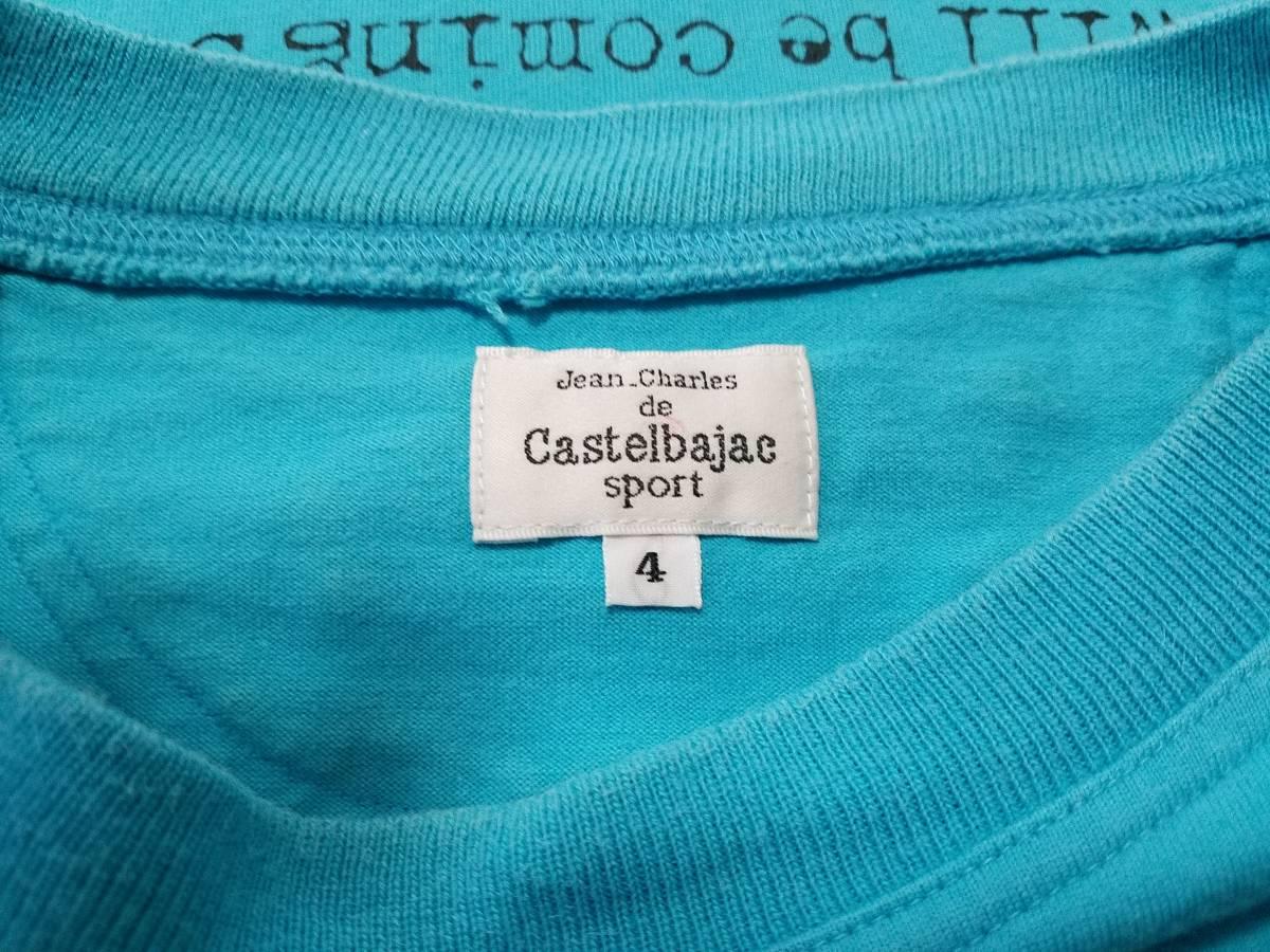 ★CASTELBAJAC★Tシャツsize4-_画像3