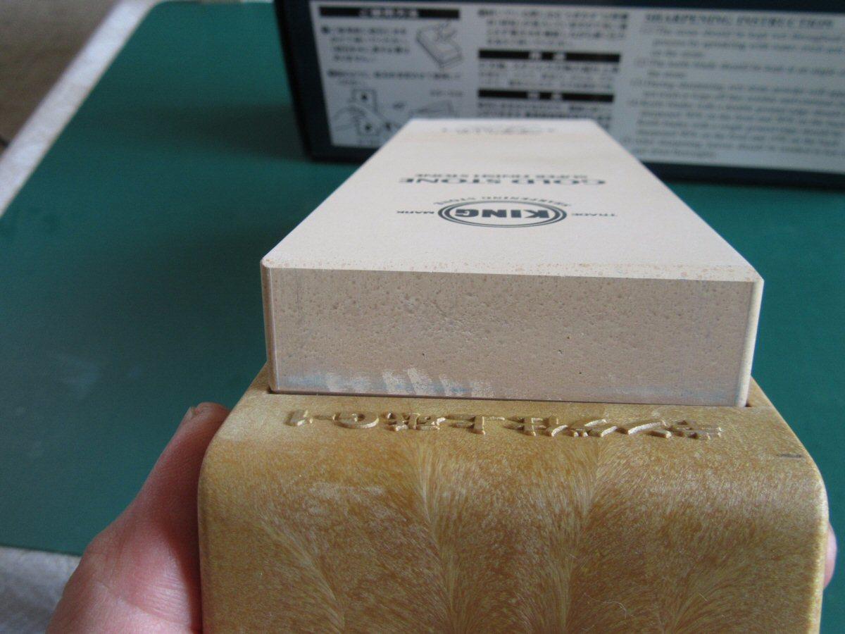 砥石 刃物超仕上げ用 キングゴールドG-1 新品です_画像6