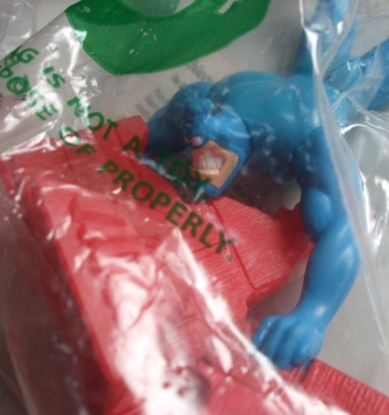 90's TACO BELL タコベル KID'S MEAL ティック THE TICK Balancing Tick やじろべえ 6個セット 未開封品 アメコミ FOX ビンテージ_画像6