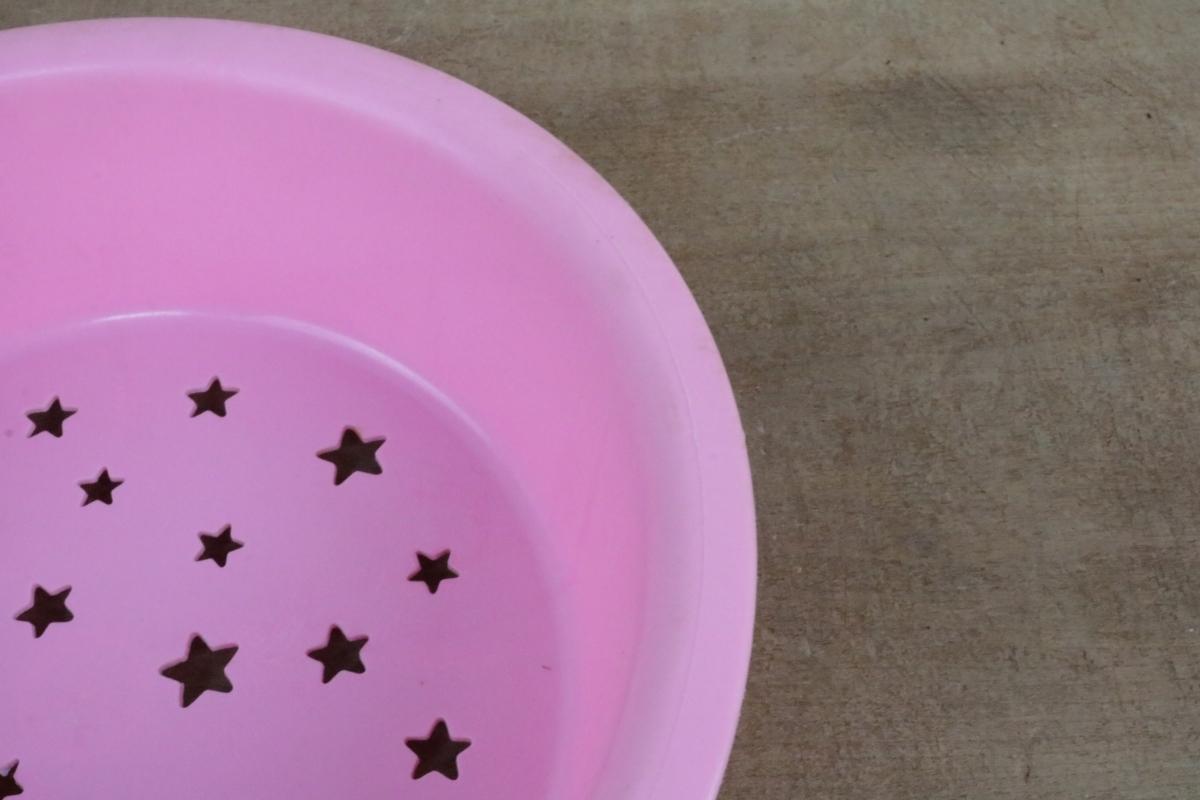 希少 1976年 当時物 昭和レトロ サンリオ リトルツインスターズ キキララ 風呂桶 洗面器 2重 水切りセット_画像8