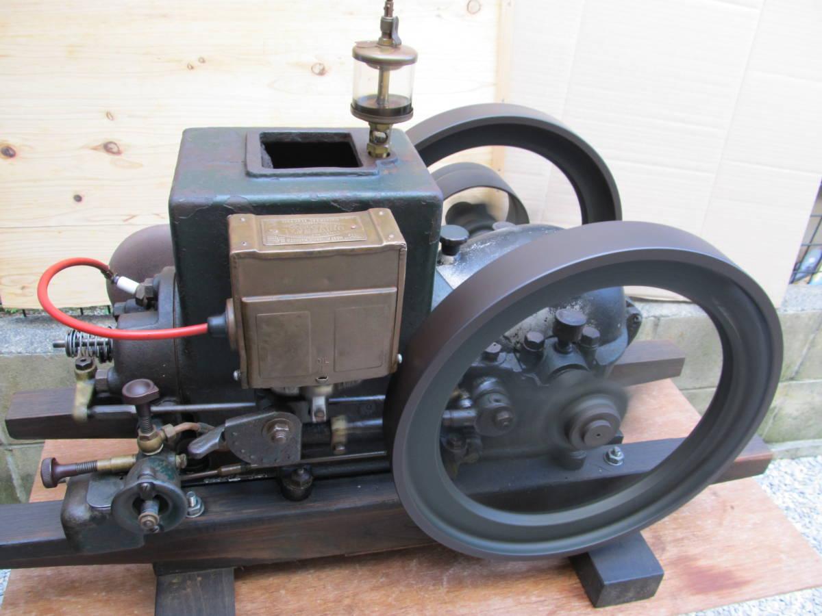 旧型農業用発動機 タコマ 箱マグネット―1本ロット発動機 2.5PS 750RPM 実動エンジン 現状中古品 引き取り限定