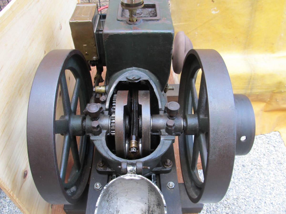 旧型農業用発動機 タコマ 箱マグネット―1本ロット発動機 2.5PS 750RPM 実動エンジン 現状中古品 引き取り限定 _画像6