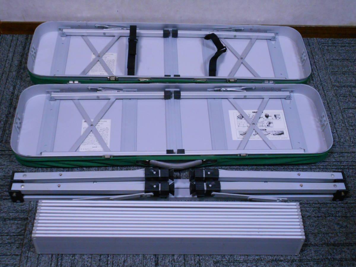 ■コールマン ピクニックテーブルセット 天板の高さ2段階調節可 Model 2000010516 オールインワン かんたん設営 廃盤 Coleman_画像7