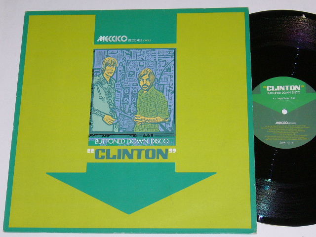 CLINTON / BUTTONED DOWN DISCO / 1999年盤 / HUTT116 / UK盤 / 試聴検査済み_画像1