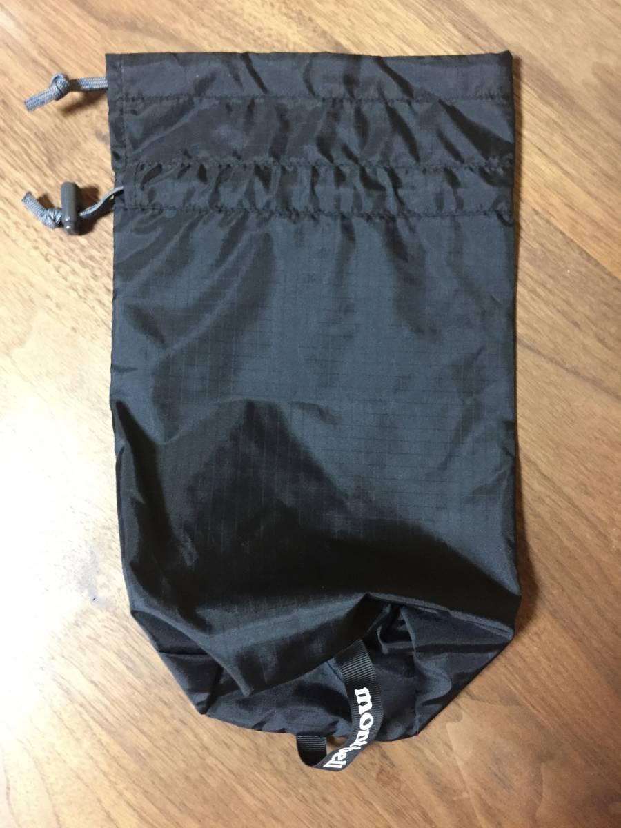 モンベル・サンダーパス JKT メンズ 1128344 Mサイズ 黒ガンメタ 防水 / レインダンサーGORE_画像6