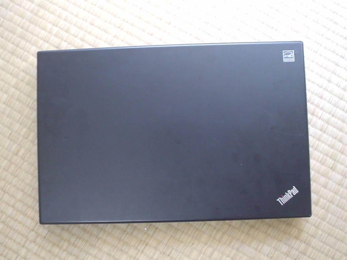 ★新品 SSD 120GB 新品バッテリー Core i5 520M Windows10 Lenovo ThinkPad L512 メモリ 4GB Office2016 無線LAN Bluetooth_画像5
