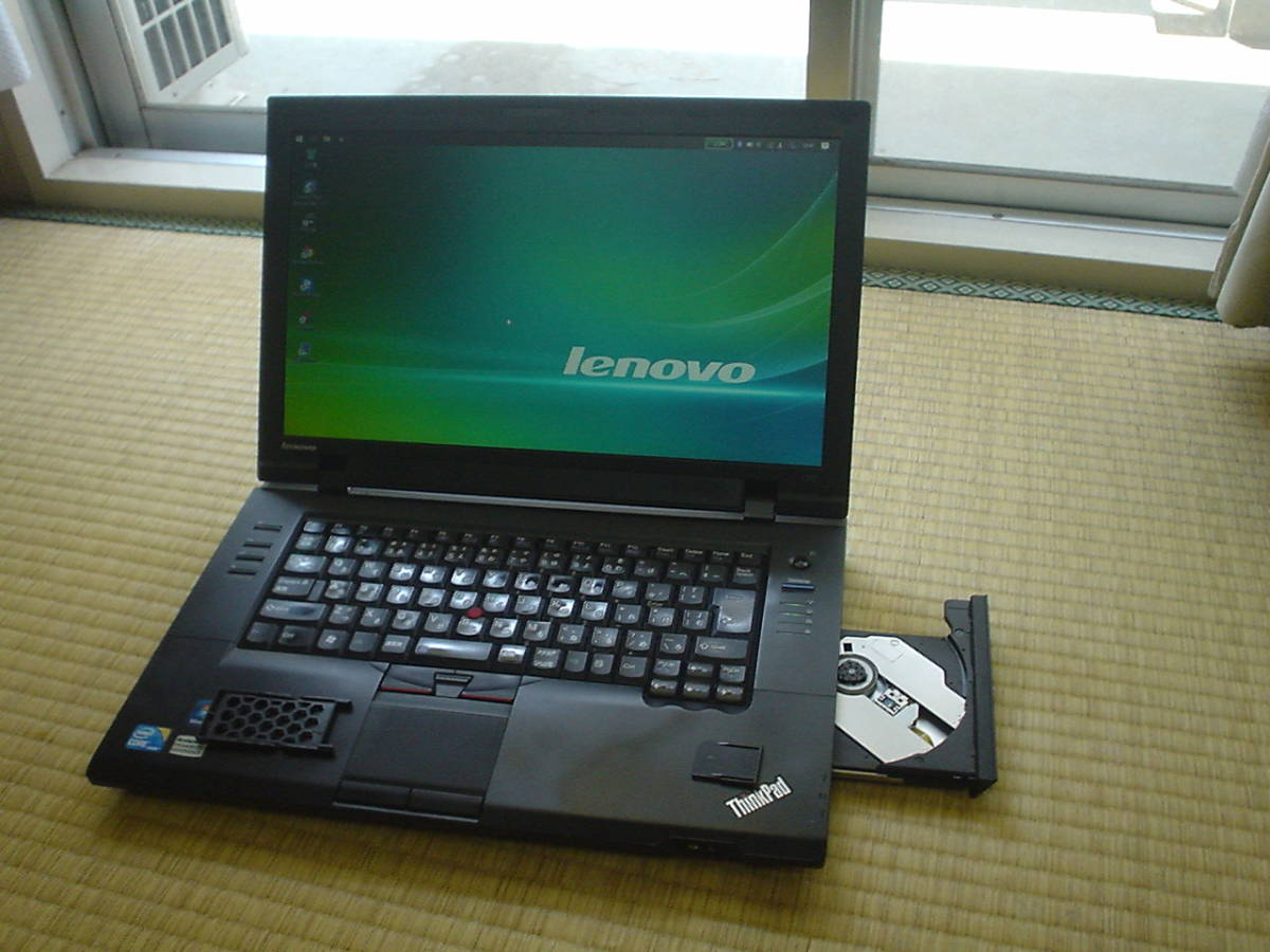 ★新品 SSD 120GB 新品バッテリー Core i5 520M Windows10 Lenovo ThinkPad L512 メモリ 4GB Office2016 無線LAN Bluetooth