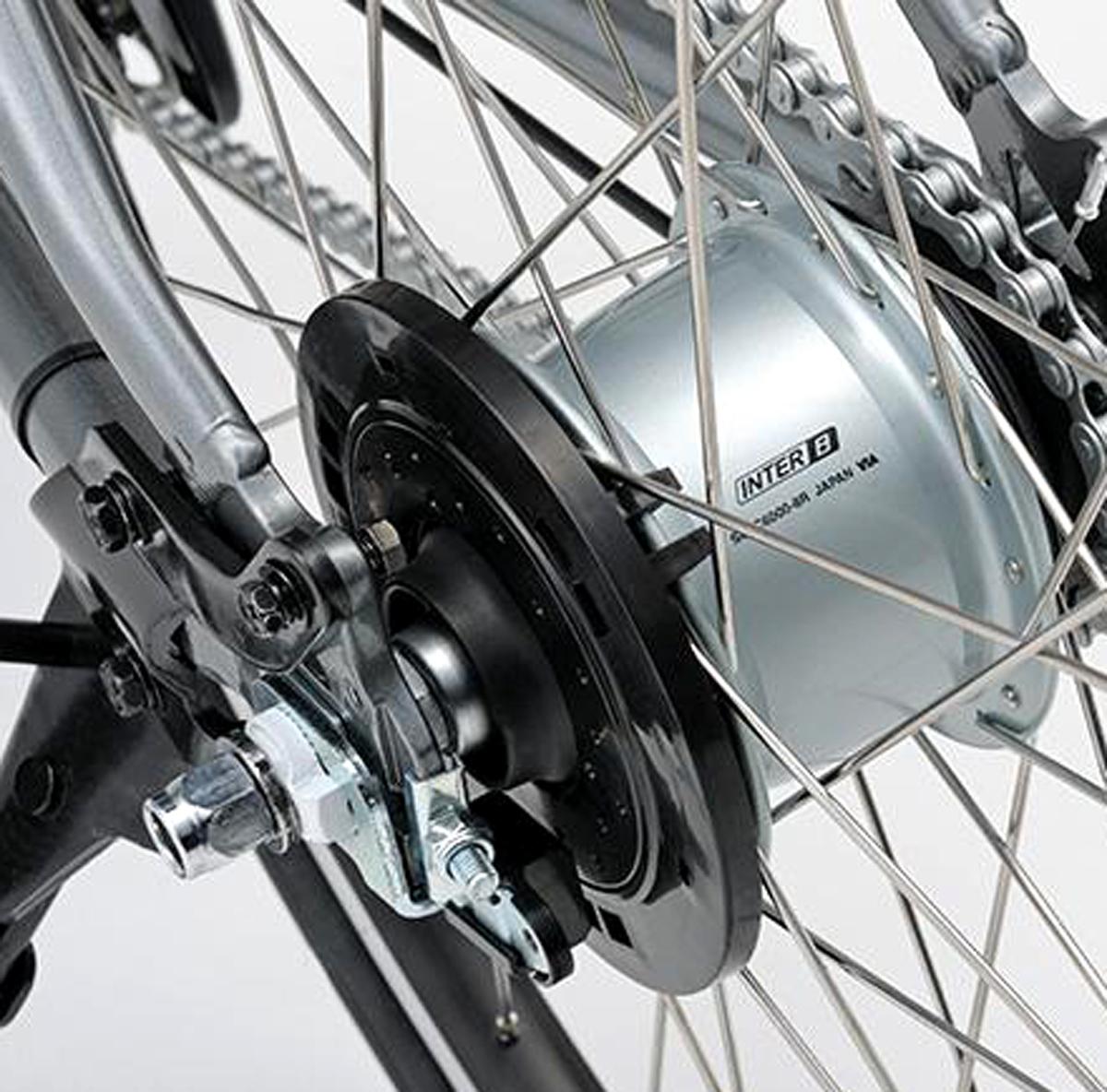 送無/YAMAHAブレイス BRIDGESTONEリアルストリーム後輪 マグネットスピードセンサー 改造加工品リミッターカット_装着状態