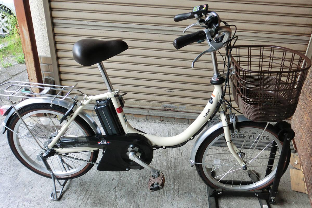 ★改速アシスト ヤマハ PAS SION-U 20インチ バッテリー8.7Ah リミッターカット カスタム改造電動自転車 2017年モデル