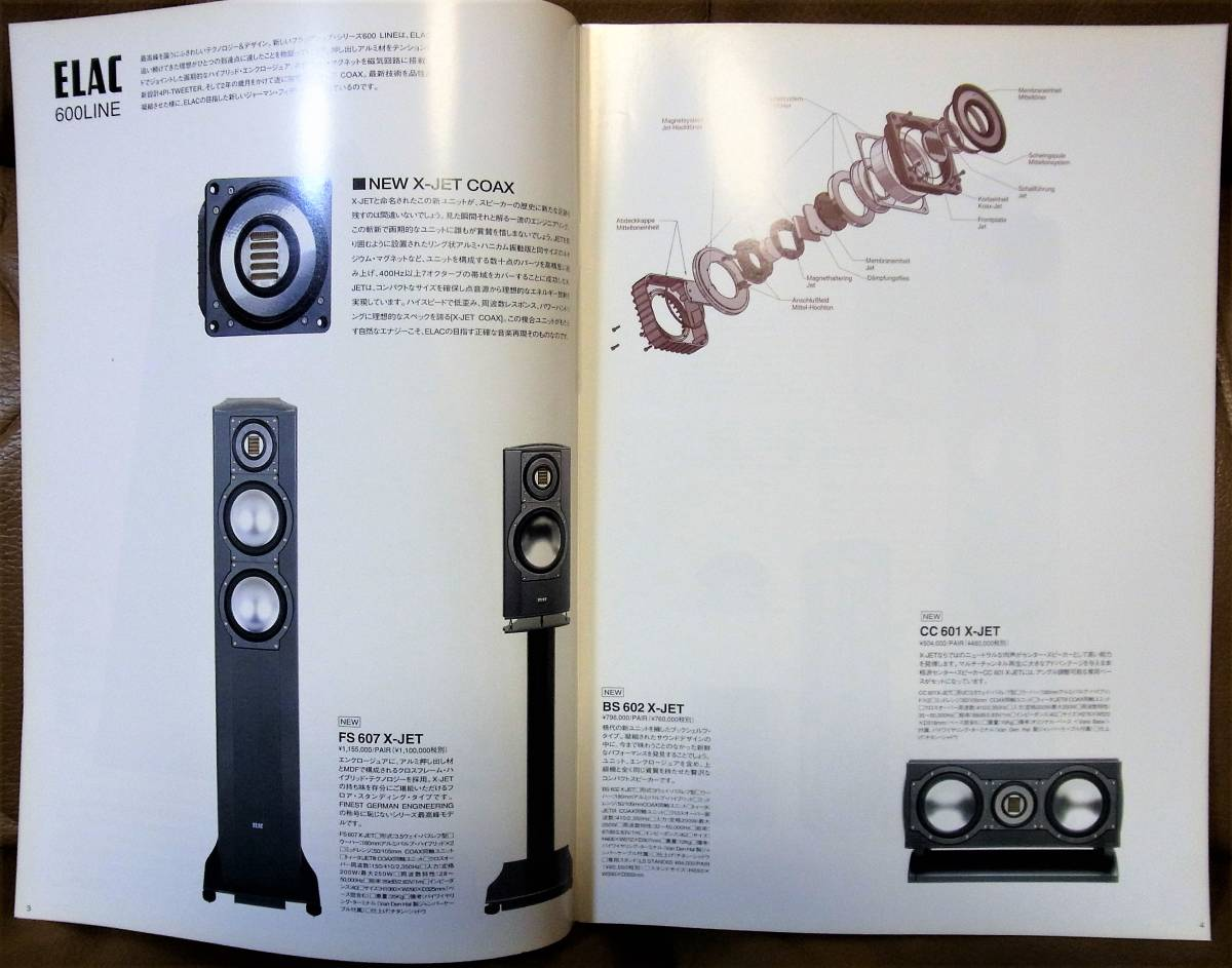 【送料無料】NEXT SOUND 総合カタログ VOL.7 1部 [掲載メーカー:ELAC,ORACLE,BIRDLAND AUDIO,BENZ MICRO,SAP,SFC,AURA,EXPRESSIMO AUDIO]_画像3