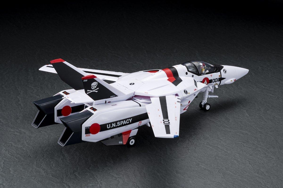 【新品未開封】超時空要塞マクロス 愛・おぼえていますか 1/60 完全変形VF-1S ストライクバルキリー (一条輝 搭乗機) movie ver._画像9