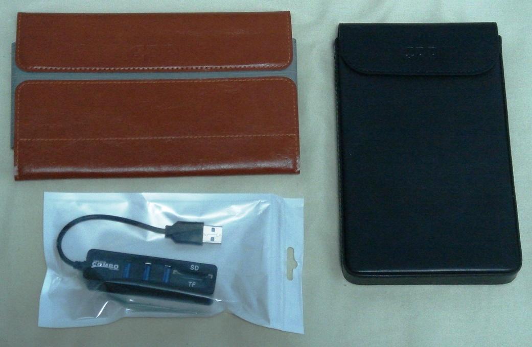 GPD Pocket 2 + 専用ケース2種 + 未使用ハブ 送料込_画像6
